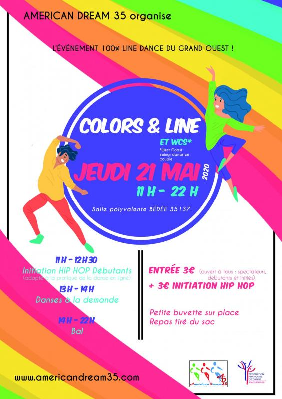 Affiche color and line 2020 dv