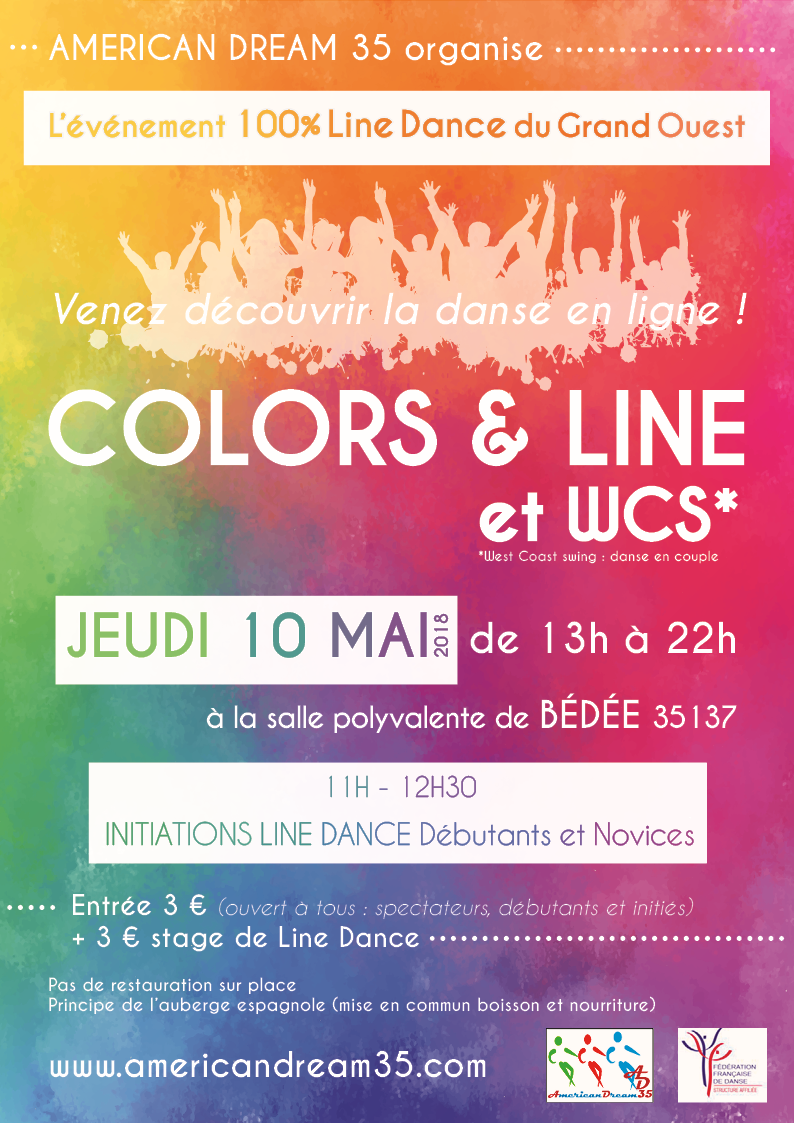 Affiche color line 2018 dv