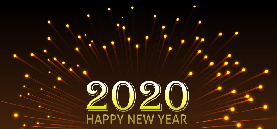 Pngtree 2020 happy new year background image 311082